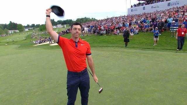 Rory McIlroy shoots final-round 61 to win at RBC Canadian