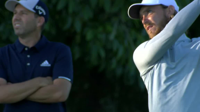 Tommy Fleetwood's solid approach yields birdie putt at Zurich Classic