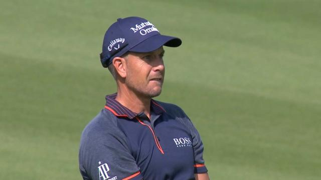 Henrik Stenson's smart approach sets up eagle putt at WGC-HSBC Champions
