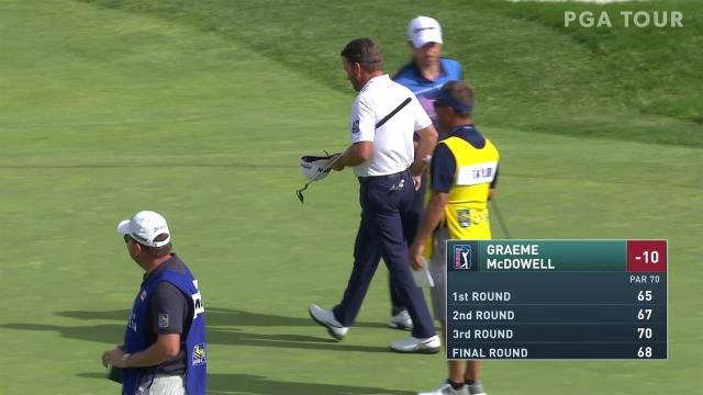 Graeme McDowell closes with clutch birdie at RBC Canadian