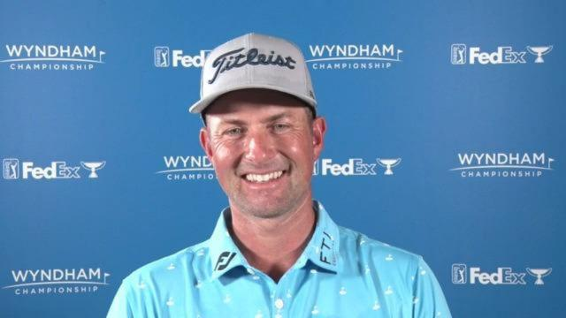 Webb Simpson on why he performs well at Sedgefield
