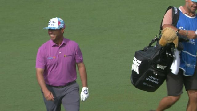 Today's Top Plays: Chez Reavie's eagle hole out is the Shot of the Day