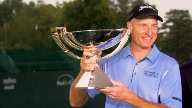 Jim Furyk describes each of his wins in 5 words