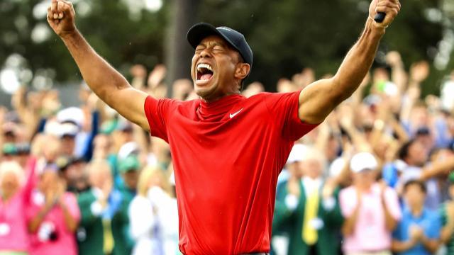 2019 Masters Winner Tiger Woods' 81 victories on PGA TOUR