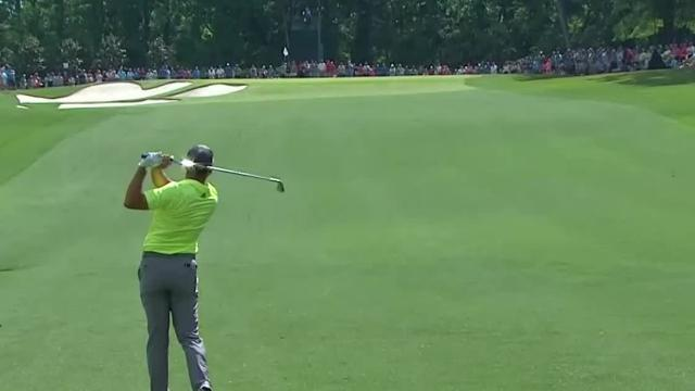 Today's Top Plays: Sergio Garcia's near-eagle approach on No. 11 for the Shot of the Day