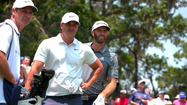 Dustin Johnson and Brooks Koepka: Friends and competitors