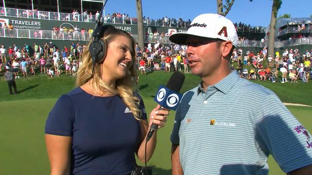 Chez Reavie interview after winning Travelers