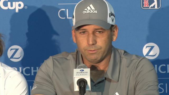 Sergio Garcia on Tiger Woods' Masters win before Zurich Classic