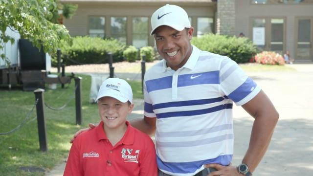 Make-A-Wish recipient experiences Barbasol Championship