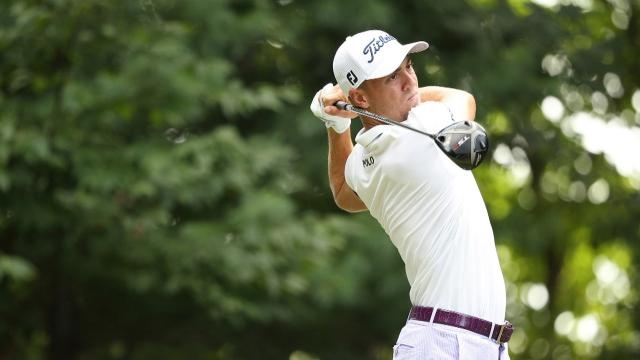 Justin Thomas' Round 2 highlights from THE NORTHERN TRUST