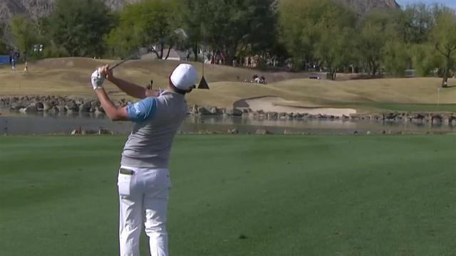 Andrew Landry opens back nine with birdie at The American Express