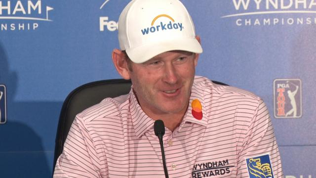 Brandt Snedeker reflects on 59 before Wyndham