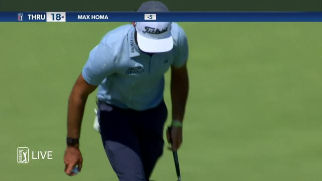 Max Homa birdies No. 9 in Round 2 at 3M Open