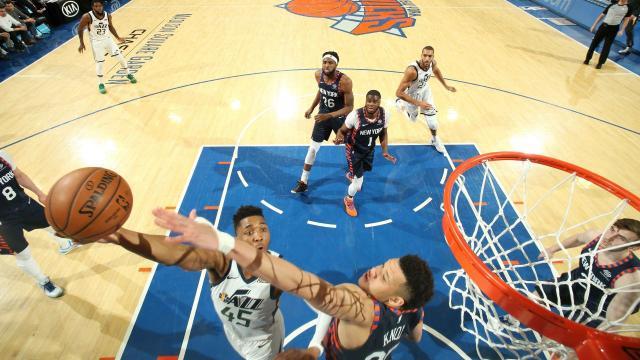 Mitchell scores 30, Jazz pound Knicks 137-116