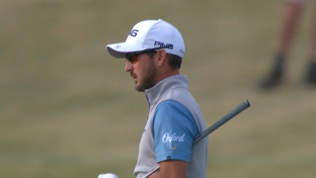 Today's Top Plays: Andrew Landry's approach at No. 18 is the Shot of the Day