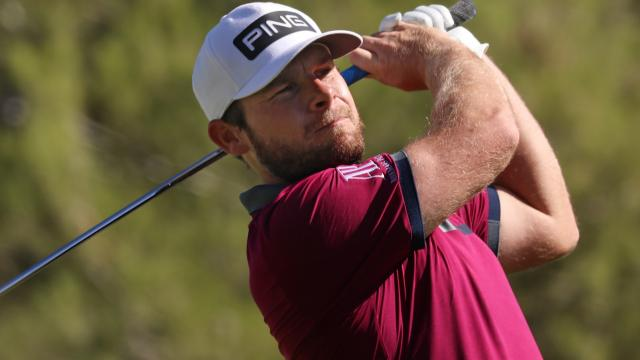 Tyrrell Hatton leads after 18 at THE CJ CUP
