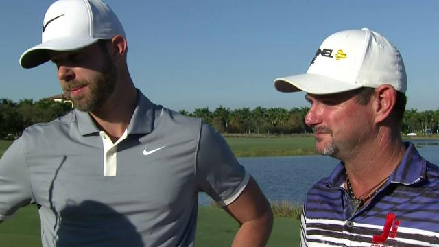 Sabbatini and Tway comment after winning the QBE Shootout