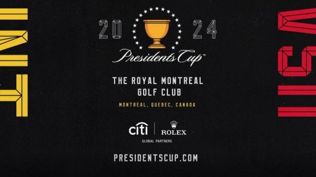 La Presidents Cup de retour à Montreal en 2024