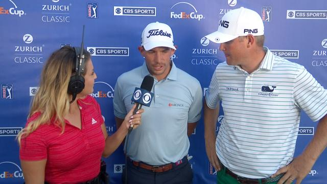 Scott Stallings and Trey Mullinax's interview after Round 3 at Zurich Classic