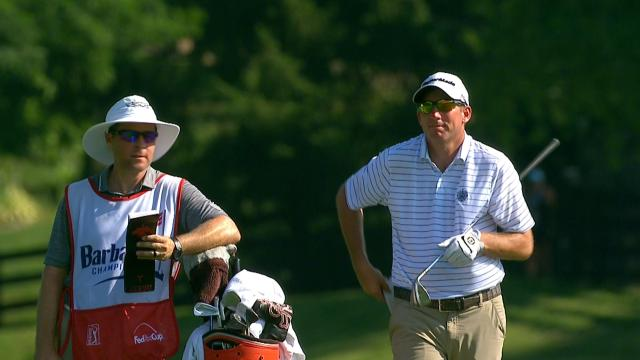 Jim Herman Round 3 highlights from Barbasol