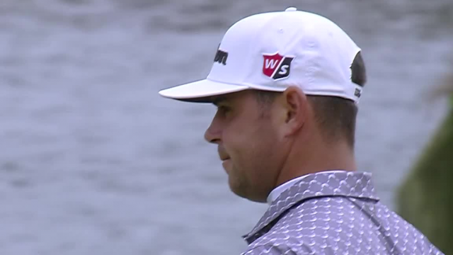 Gary Woodland drains 26-footer for birdie at THE PLAYERS