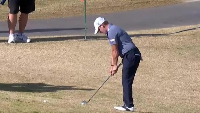 Bud Cauley chips it tight to set up birdie at The American Express