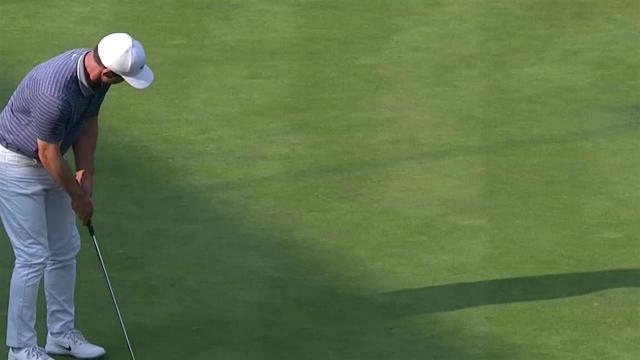 Paul Casey jars 20-footer for birdie at WGC-Mexico