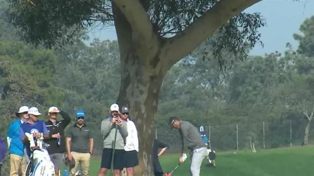 Ryan Palmer's impressive second leads to birdie at Farmers