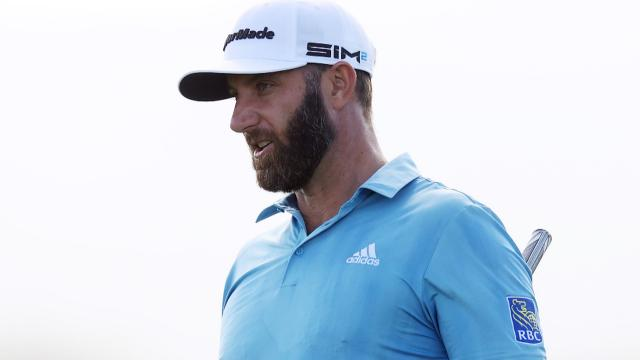 DJ burns too many edges, Aloha Friday and Schauffele's eagle