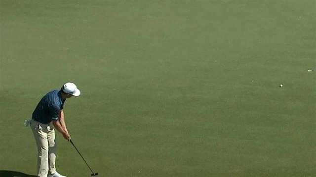 Zach Johnson's lengthy birdie putt at THE PLAYERS