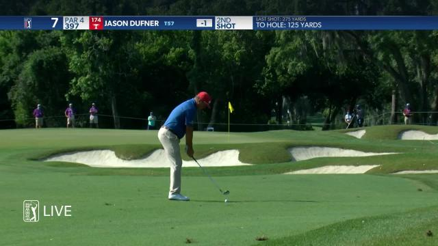 Jason Dufner makes birdie on No. 7 in Round 3 at Valspar