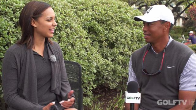 Tiger Woods interview after Round 2 of WGC-Dell Match Play