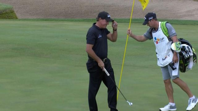 Today's Top Plays: Phil Mickelson's near par-4 ace is Shot of the Day