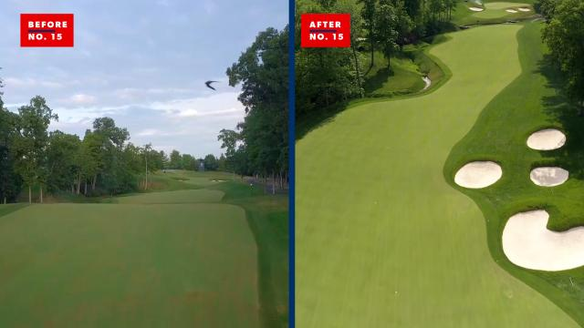 Before and after | Muirfield Village course renovation