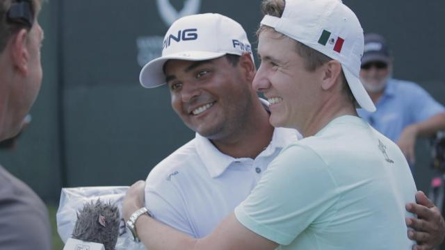 Munoz takes down college teammate Ortiz, Im falls in a playoff and the Amazing Aubrey