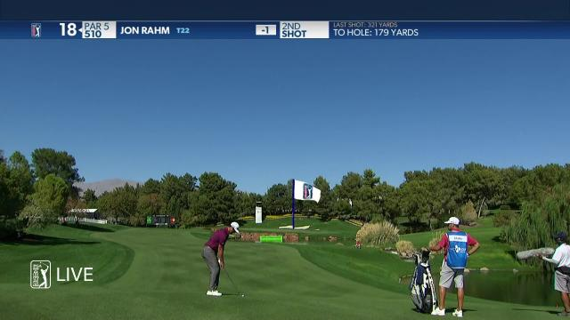 Jon Rahm birdies No. 18 in Round 1 at THE CJ CUP