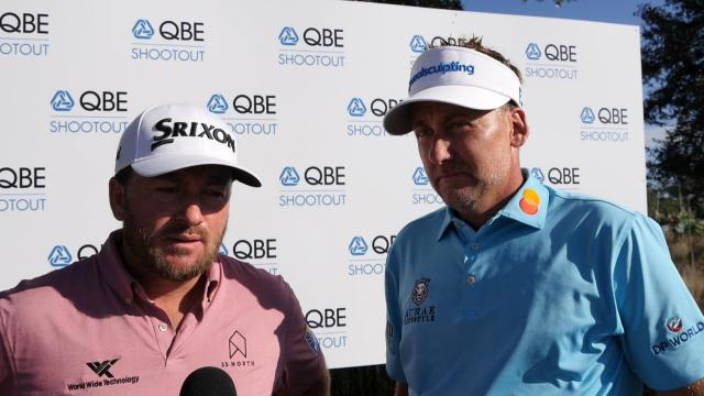 McDowell and Poulter comment after round-two of the QBE Shootout
