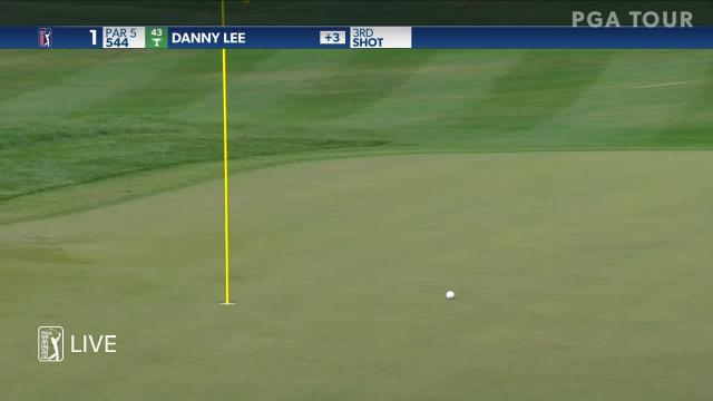 Danny Lee gets up and down for birdie at Valspar