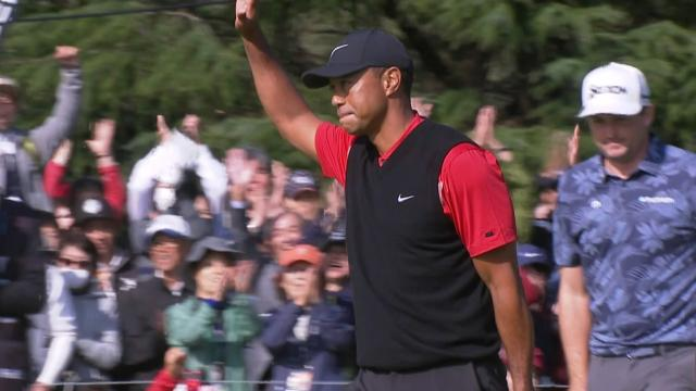 Tiger Woods' Round 4 highlights from ZOZO