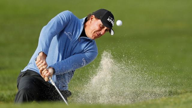 Best escapes from the bunker on the PGA TOUR