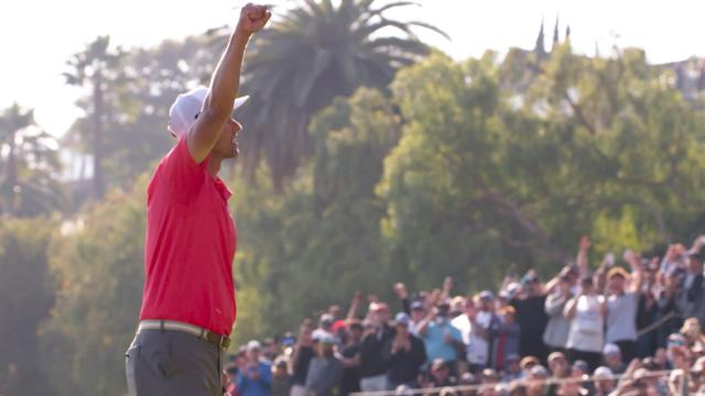 Adam Scott wins The Genesis Invitational 2020