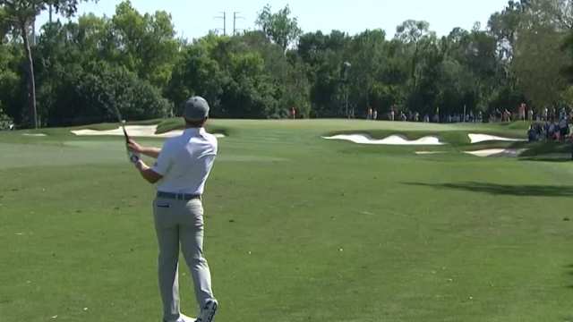 Austin Cook uses nice approach to set up birdie at Valspar