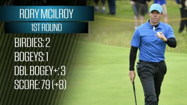 Breaking Down Rory McIlroy's First-Round 79 at the Open Championship