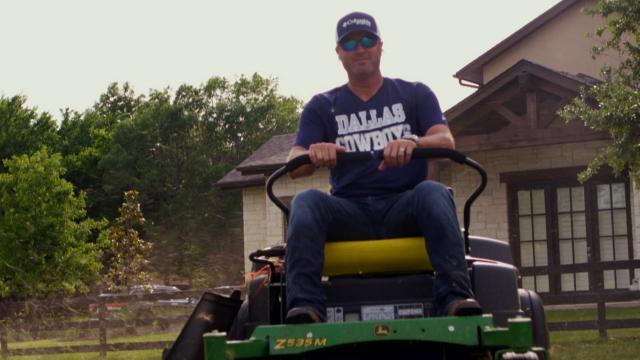 Ryan Palmer embraces the farm life