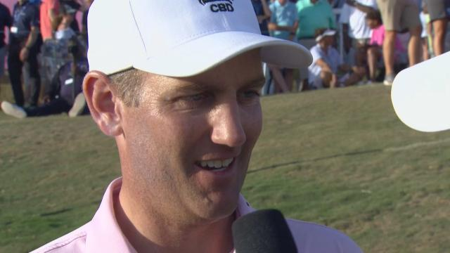 Brendon Todd interview after winning Bermuda