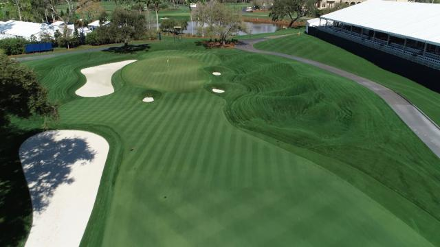 Pete Dye's vision for No. 9 at TPC Sawgrass during THE PLAYERS