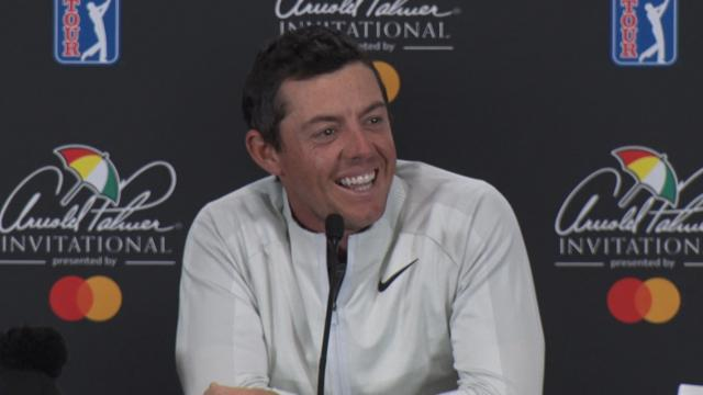 Rory McIlroy answers Carson Daly before Arnold Palmer