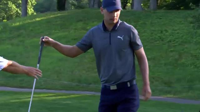 Seth Reeves uses nice approach to set up birdie at John Deere