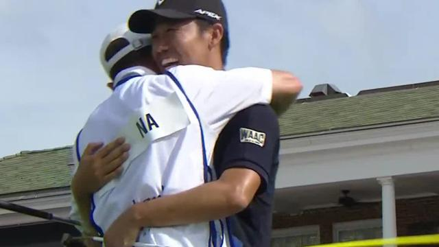 Kevin Na wins by four shots at Charles Schwab