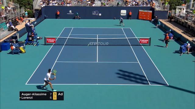 Lorenzi beats Sandgren in 1st round of New York Open